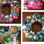 Christmas Ornament Wreaths By RetroWreaths