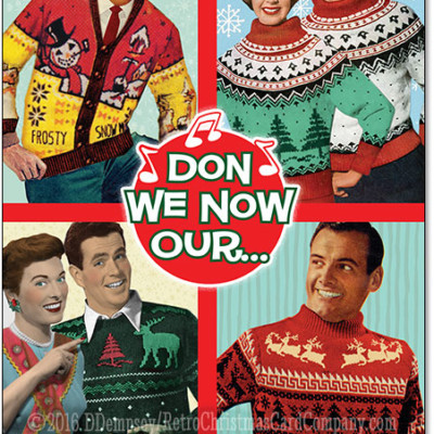 Ugly Sweater Christmas Cards