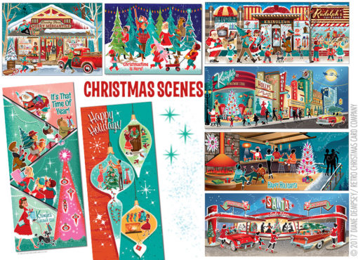 Holiday Scenes Christmas Card Variety Pack