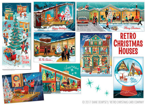 Christmas Houses Variety Pack