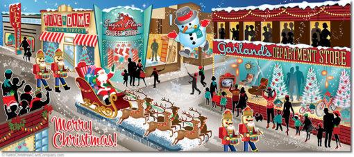 Christmas Parade Christmas Cards