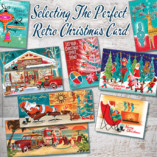 Selecting The Perfect Retro Christmas Card
