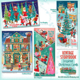 Vintage StoryBook Christmas Cards