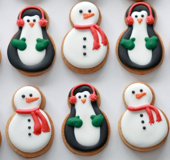 Retro Christmas Cookie Creatures Merry Makers Project Retro
